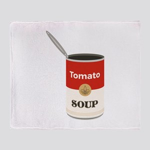 Tomato Soup Throw Blanket