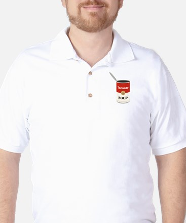Tomato Soup Golf Shirt