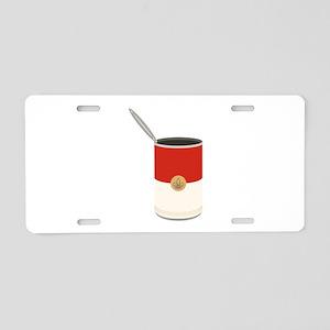 Campbells Soup Can Aluminum License Plate