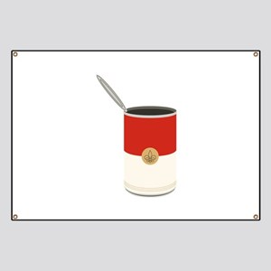Campbells Soup Can Banner