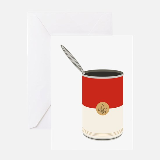 Campbells Soup Can Greeting Cards