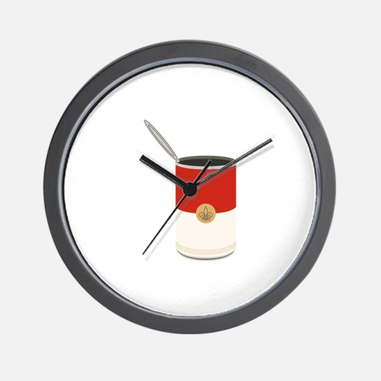 Campbells Soup Can Wall Clock