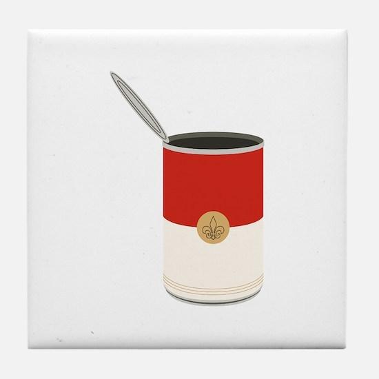 Campbells Soup Can Tile Coaster