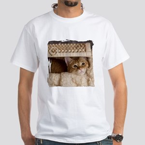 Loki In Basket 4 White T-Shirt