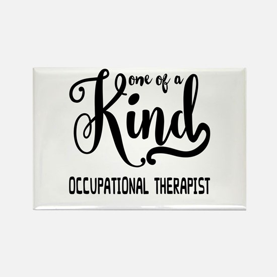 One of a Kind Occupational Therap Rectangle Magnet
