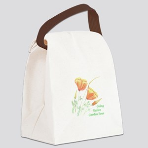 poppies Canvas Lunch Bag
