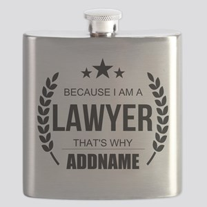 Lawyer Gifts Personalized Flask