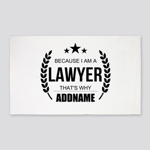 Lawyer Gifts Personalized Area Rug