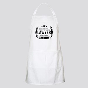 Lawyer Gifts Personalized Apron