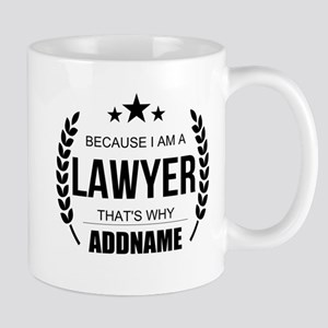 Lawyer Gifts Personalized Mug