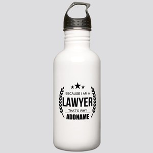 Lawyer Gifts Personali Stainless Water Bottle 1.0L