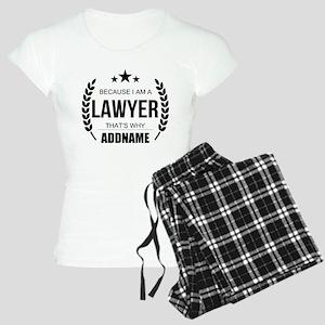 Lawyer Gifts Personalized Women's Light Pajamas