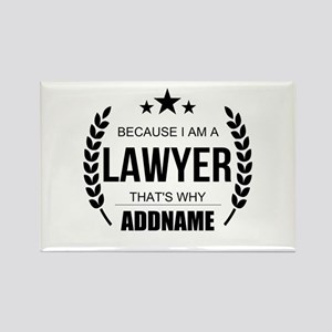 Lawyer Gifts Personalized Rectangle Magnet