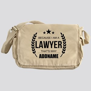 Lawyer Gifts Personalized Messenger Bag