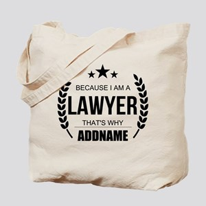 Lawyer Gifts Personalized Tote Bag