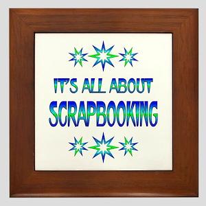 All About Scrapbooking Framed Tile