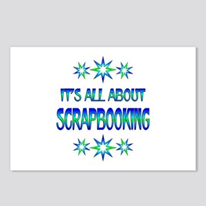 All About Scrapbooking Postcards (Package of 8)