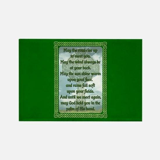 Green Irish Blessing Magnets
