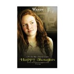 """Or So The Story Goes """"Wendy Mini Poster Print"""