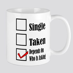 Single ready to mingle Mugs