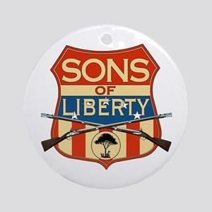 SONS OF LIBERTY Ornament (Round)