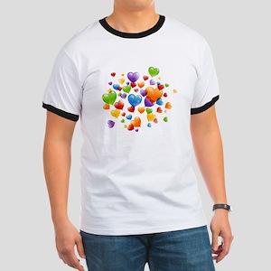 Balloon hearths T-Shirt