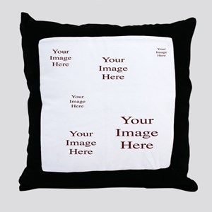 Add a Group of Images Here Throw Pillow