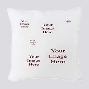 Add a Group of Images Here Woven Throw Pillow