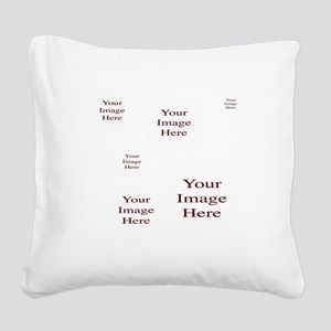 Add a Group of Images Here Square Canvas Pillow