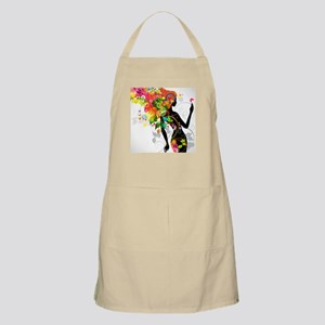 Psychedelic woman Apron