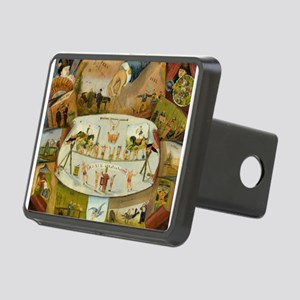 circus art Hitch Cover