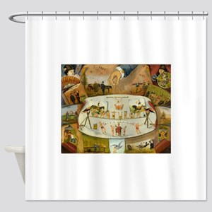 circus art Shower Curtain
