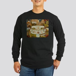 circus art Long Sleeve T-Shirt