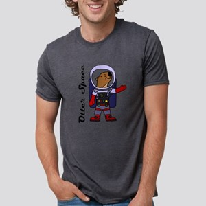 Funny Sea Otter in Otter Space T-Shirt