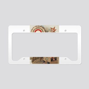 circus art License Plate Holder