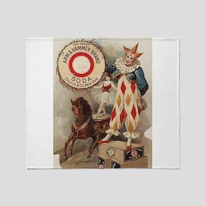 circus art Throw Blanket