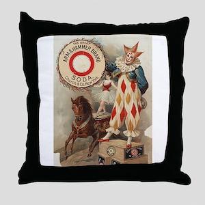 circus art Throw Pillow