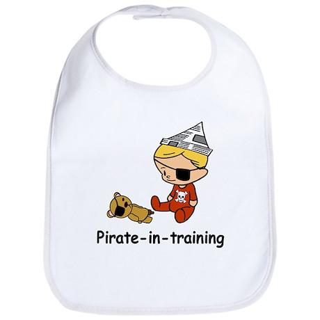 Pirate-in-training Bib