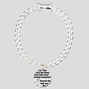 Did You Hear About The B Charm Bracelet, One Charm