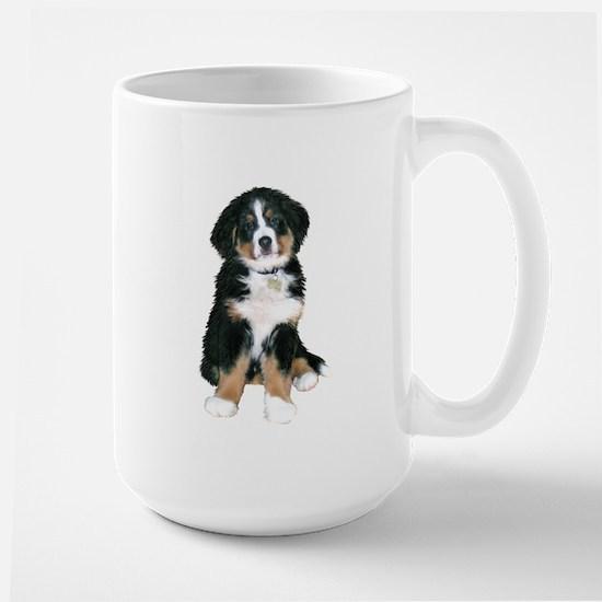 Bernese MD Puppy Large Mug