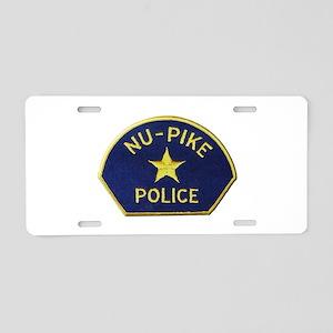 Nu-Pike Police Aluminum License Plate