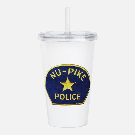 Nu-Pike Police Acrylic Double-wall Tumbler