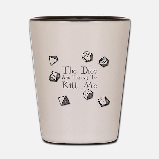 Funny Games Shot Glass