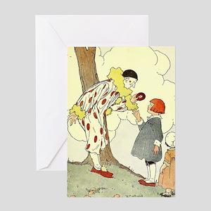 circus art Greeting Cards