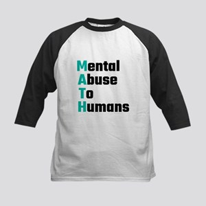 MATH Mental Abuse To Humans Baseball Jersey