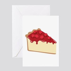 Cherry Cheesecake Greeting Cards