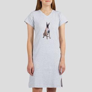 Great Dane (Fawn-D) Women's Nightshirt