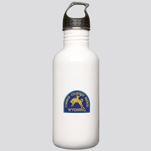 Cowboy Courtesy Patrol Wyoming Water Bottle