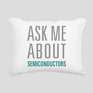 Semiconductors Rectangular Canvas Pillow
