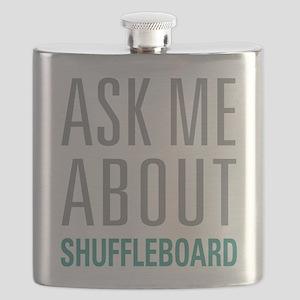 Shuffleboard Flask